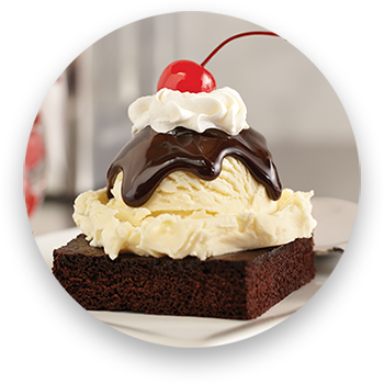 big boy mini hot fudge ice cream cake
