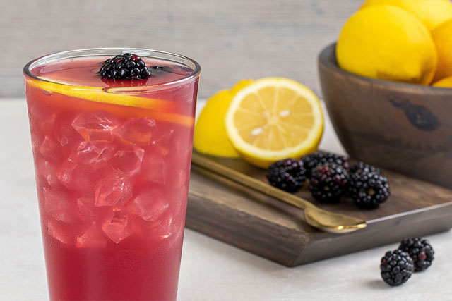 big boy beverages - blackberry lemonade
