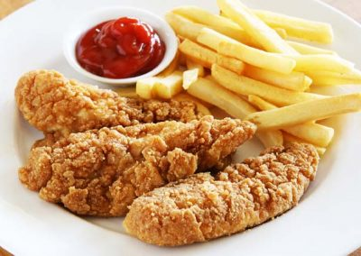 chicken strips meal big boy kid's meal