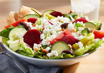 greek salad big boy salad