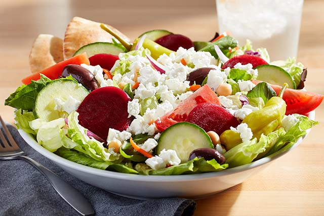 big boy salads - greek salad