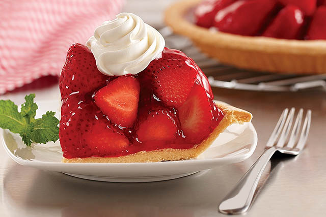 big boy dessert - strawberry pie