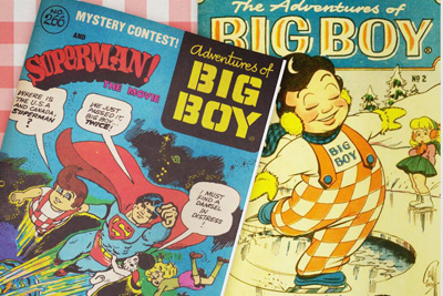 Adventures of the Big Boy comic book