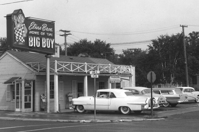 The first Elias Brothers Big Boy Restaurant