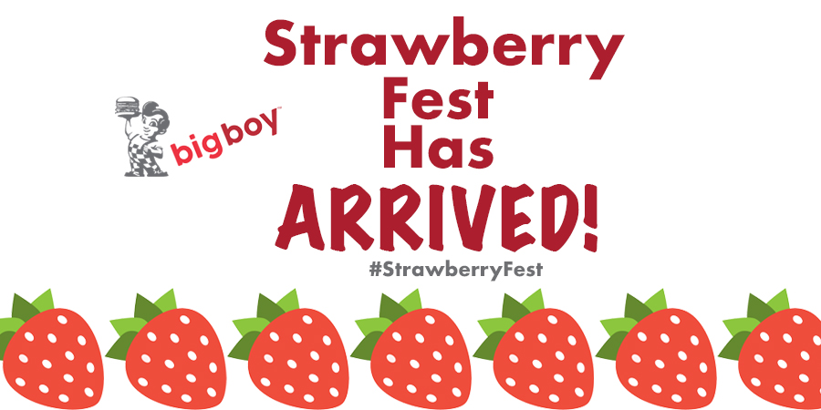 Strawberry Fest Has Arrived – $1.99 Slices of Strawberry Pie!